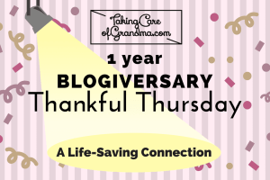 THANKFUL THURSDAY: A Life-Saving Connection