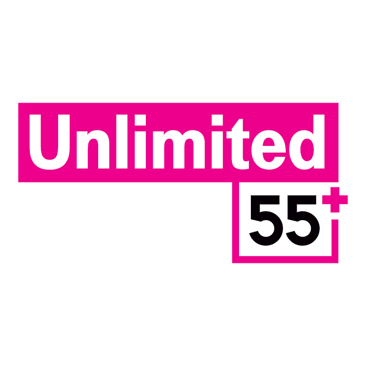 Graphic: reads Unlimited 55+