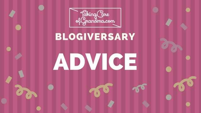 TCG BLOGIVERSARY: ADVICE