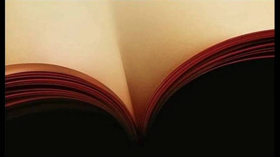 life is an open book