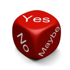 roll the dice and make a decision