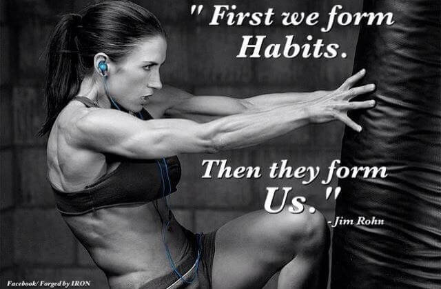Good habits are great