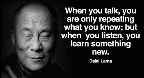 listen to learn something new