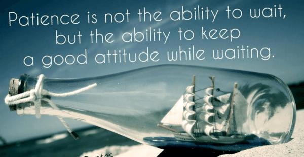 Patience Attitude