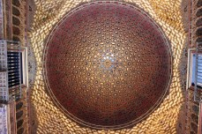 Ceiling in Alcazar