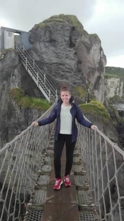 Carrick A Rede Rope Bridge - amazing!