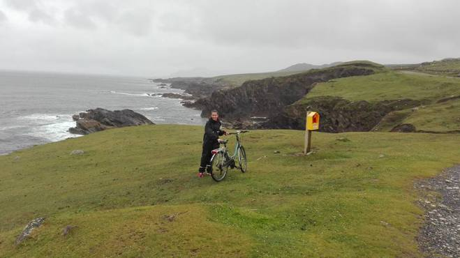 discovering chill island by bike! some windy experience.