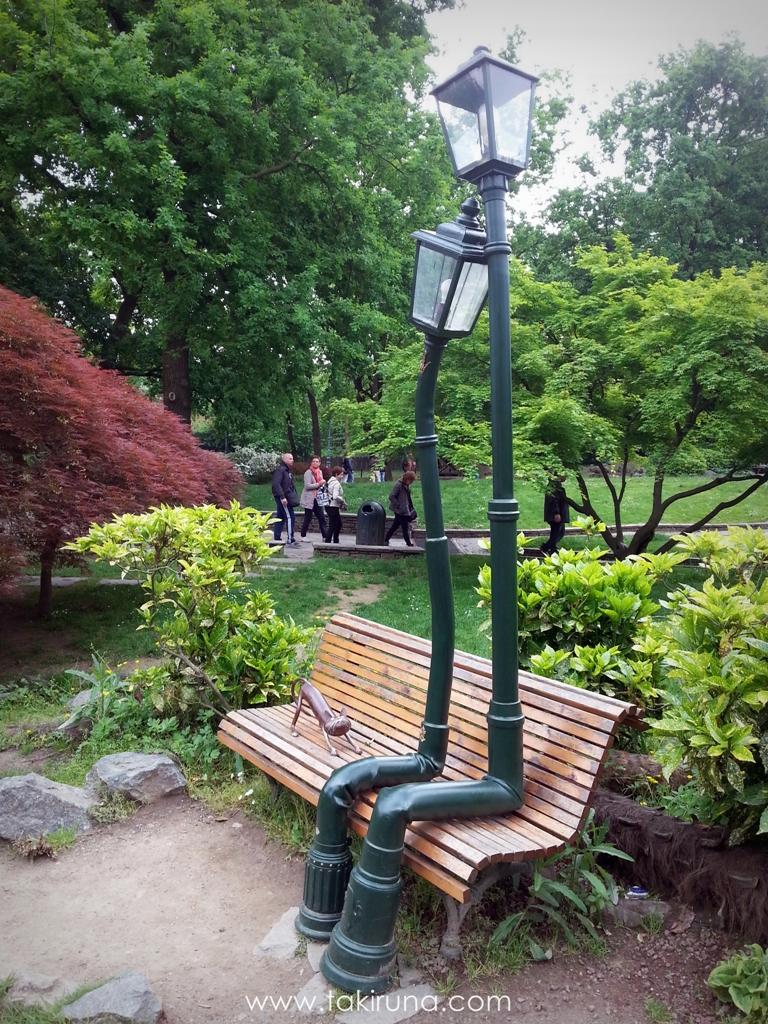 Parque Valentino o amor en el parque  Takiruna