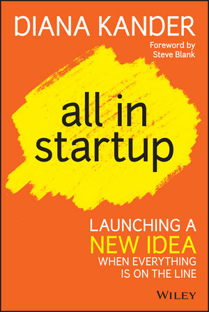 Book Review:  All In StartUp, by Diana Kander