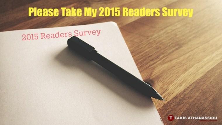 2015 Readers Survey