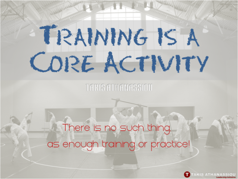 Training is a Core Activity