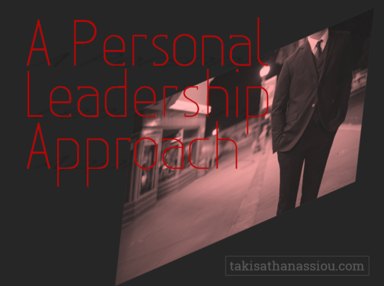 A Personal Leadership Approach