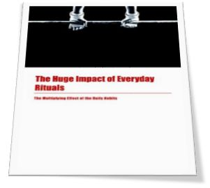 The Huge Impact Of Everyday Rituals Ebook Cover