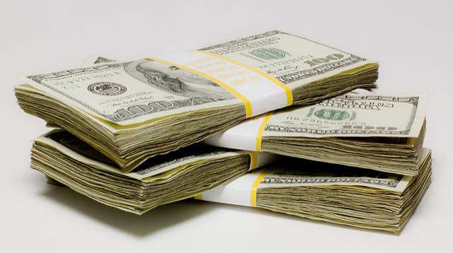 Payment Processing - Stack Of Cash