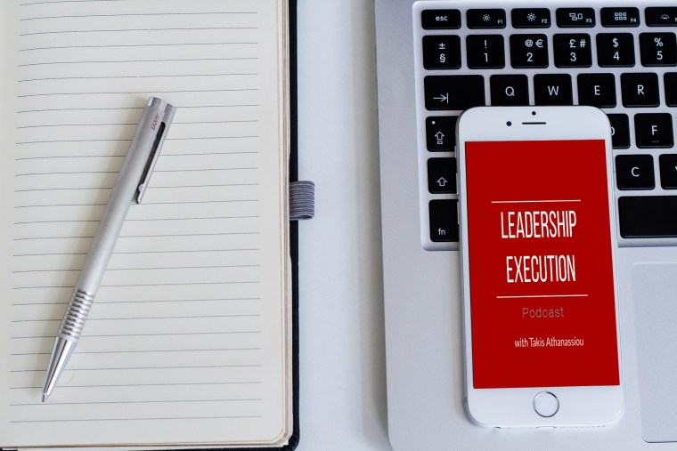 Leadership Execution Podcast Cover