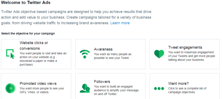 Improve Social Media Marketing - Twitter Ads