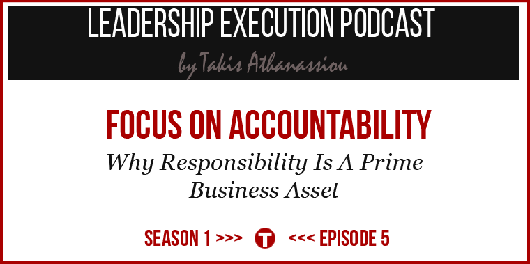 Podcast Cover On Accoundability