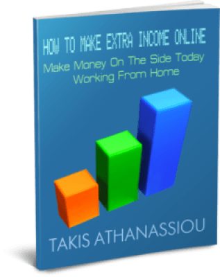 How To Make Extra Income Online: Make Money On The Side Today Working From Home 3D Cover