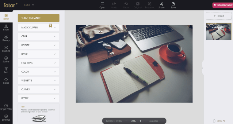 Fotor - Online Photo Editor
