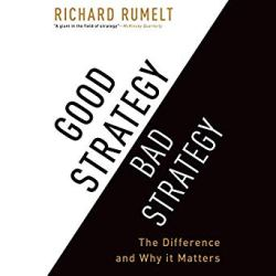 Good Strategy Bad Strategy Cover