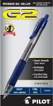 PILOT G2 Premium Refillable & Retractable Rolling Ball Gel Pens