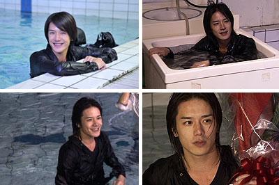 Takizawa Hideaki in Orthros no Inu DVD Making