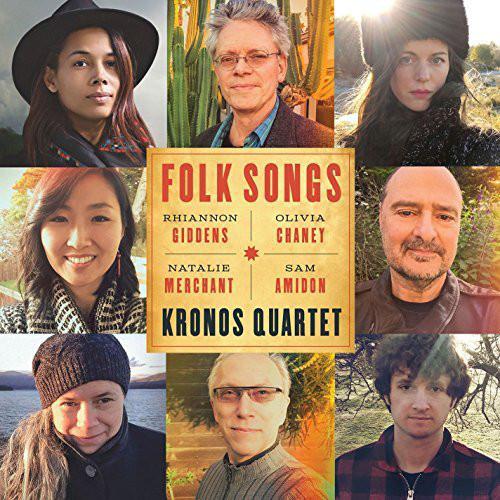 Kronos Quartet - Folk Songs - vinyl record