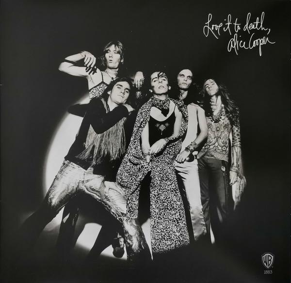 Alice Cooper - Love It To Death - vinyl record