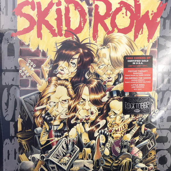 Skid Row - B-Side Ourselves - vinyl record