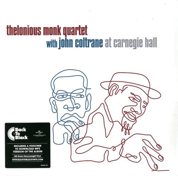 The Thelonious Monk Quartet - At Carnegie Hall - vinyl record