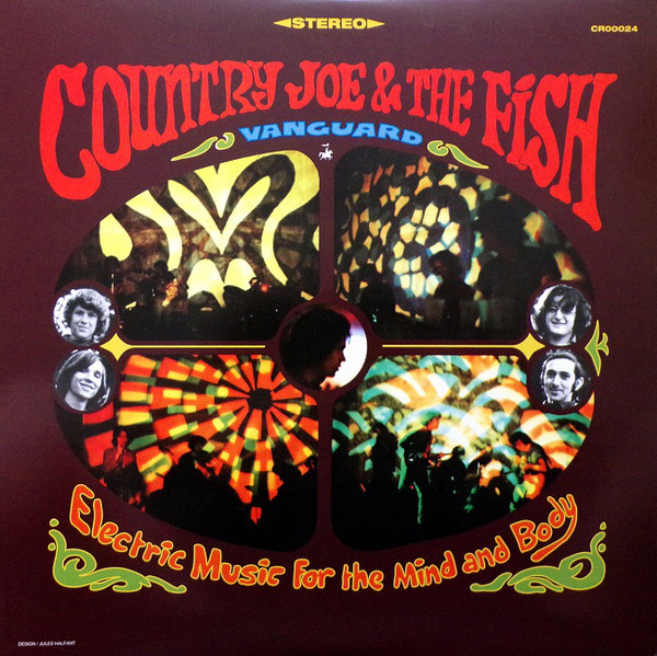 Country Joe And The Fish - Electric Music For The Mind And Body - vinyl record