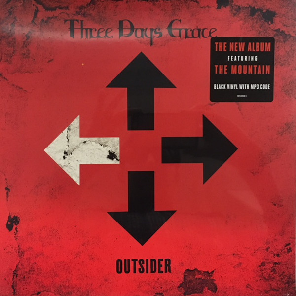 Three Days Grace - Outsider - vinyl record