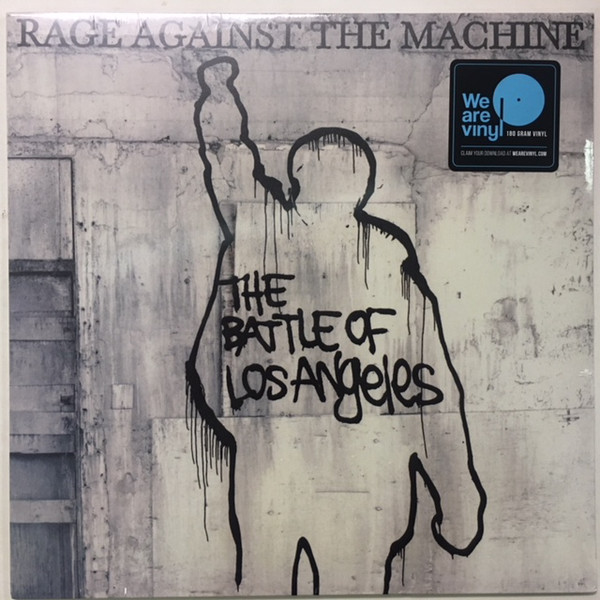 Rage Against The Machine - The Battle Of Los Angeles - vinyl record