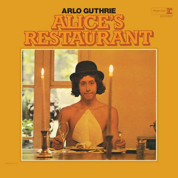 Arlo Guthrie - Alice's Restaurant - vinyl record