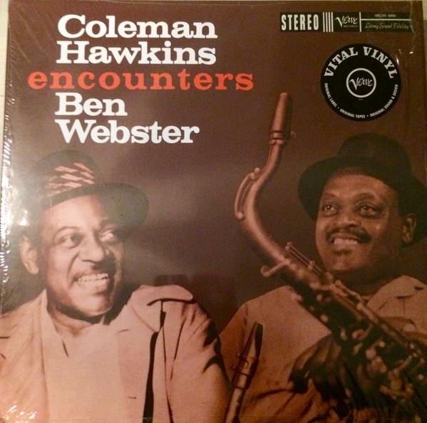 Coleman Hawkins - Coleman Hawkins Encounters Ben Webster - vinyl record