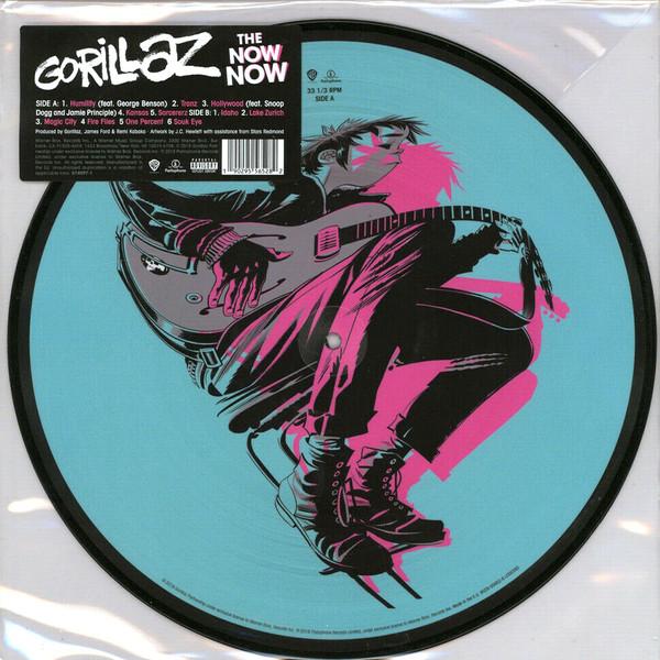 Gorillaz - The Now Now - vinyl record