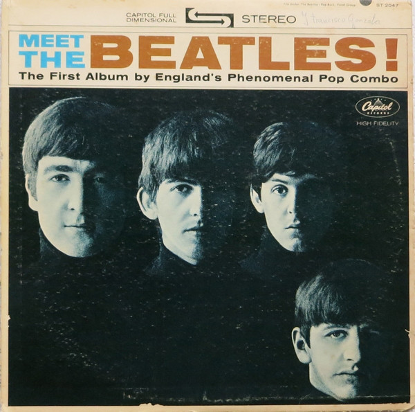 The Beatles - Meet The Beatles! - vinyl record