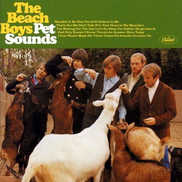 The Beach Boys - Pet Sounds - vinyl record