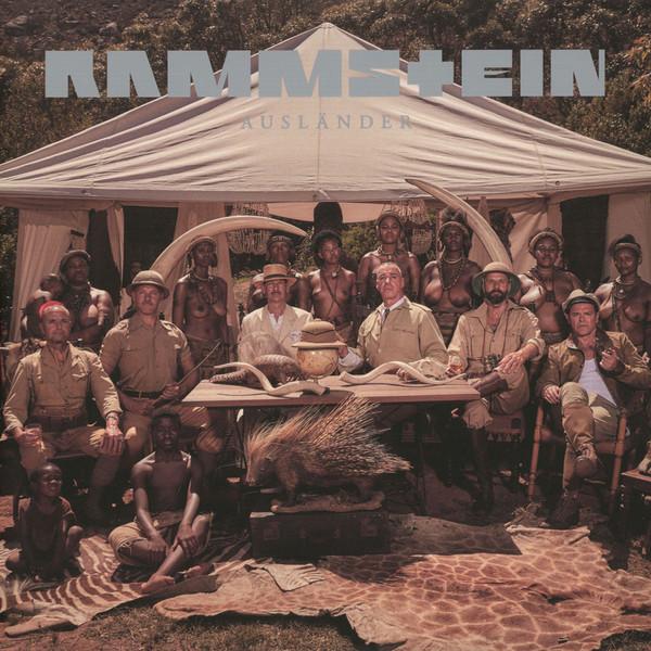 Rammstein - Ausländer - vinyl record