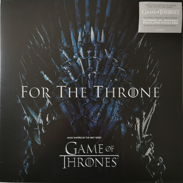 Various - For The Throne (Music Inspired By The HBO Series Game Of Thrones) - vinyl record