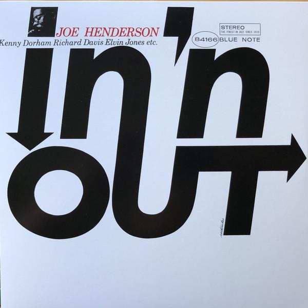 Joe Henderson - In 'N Out - vinyl record