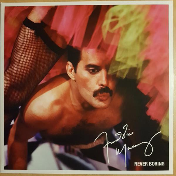 Freddie Mercury - Never Boring - vinyl record