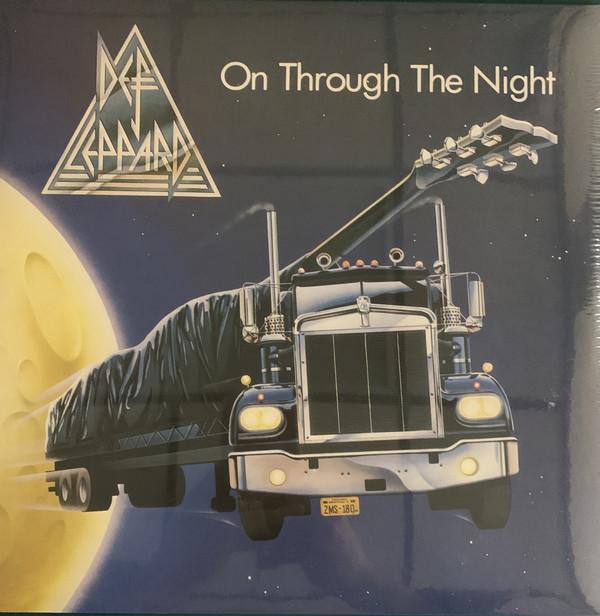 Def Leppard - On Through The Night - vinyl record