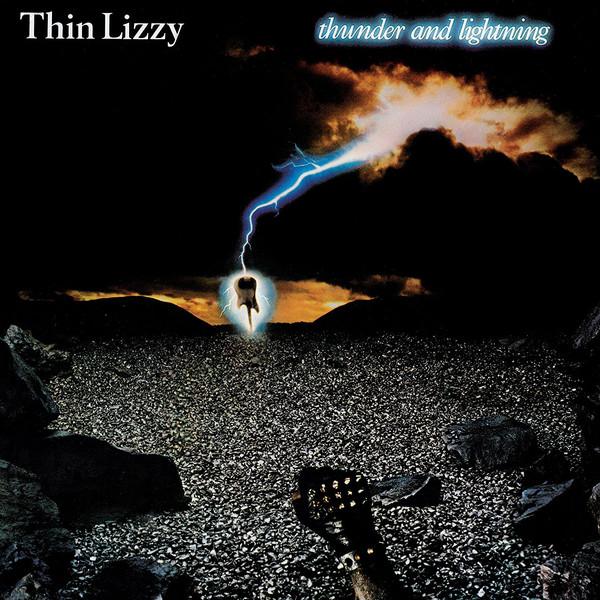 Thin Lizzy - Thunder And Lightning - vinyl record