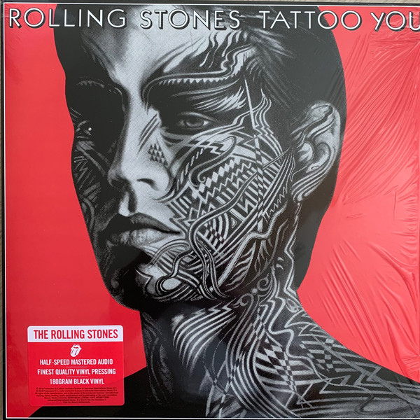 The Rolling Stones - Tattoo You - vinyl record