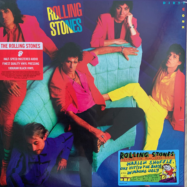The Rolling Stones - Dirty Work - vinyl record