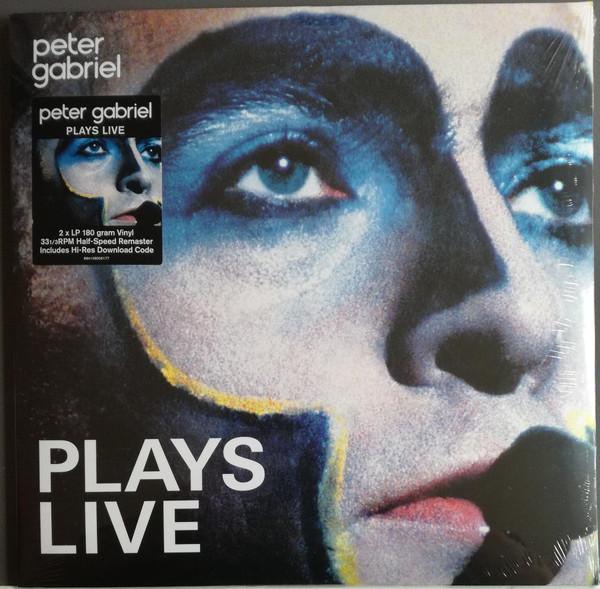 Peter Gabriel - Plays Live - vinyl record