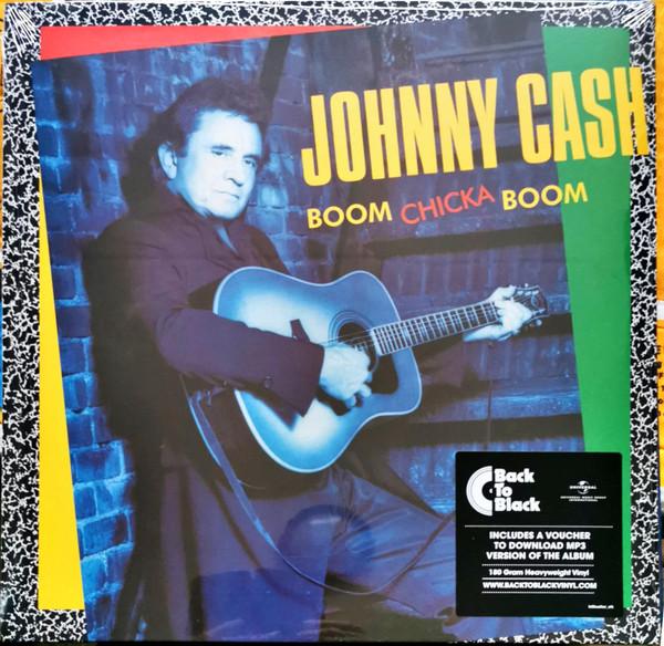 Johnny Cash - Boom Chicka Boom - vinyl record