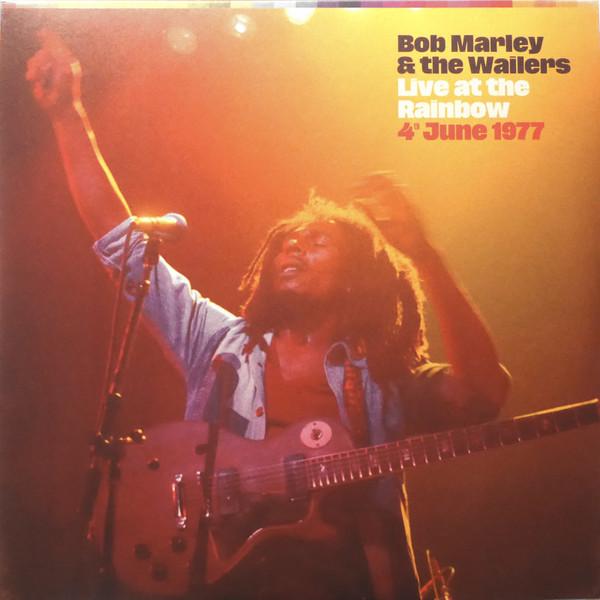 Bob Marley & The Wailers - Live At The Rainbow - vinyl record