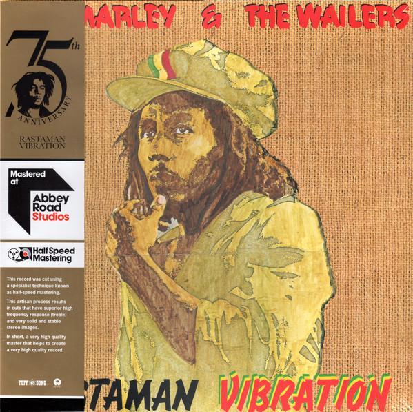 Bob Marley & The Wailers - Rastaman Vibration - vinyl record